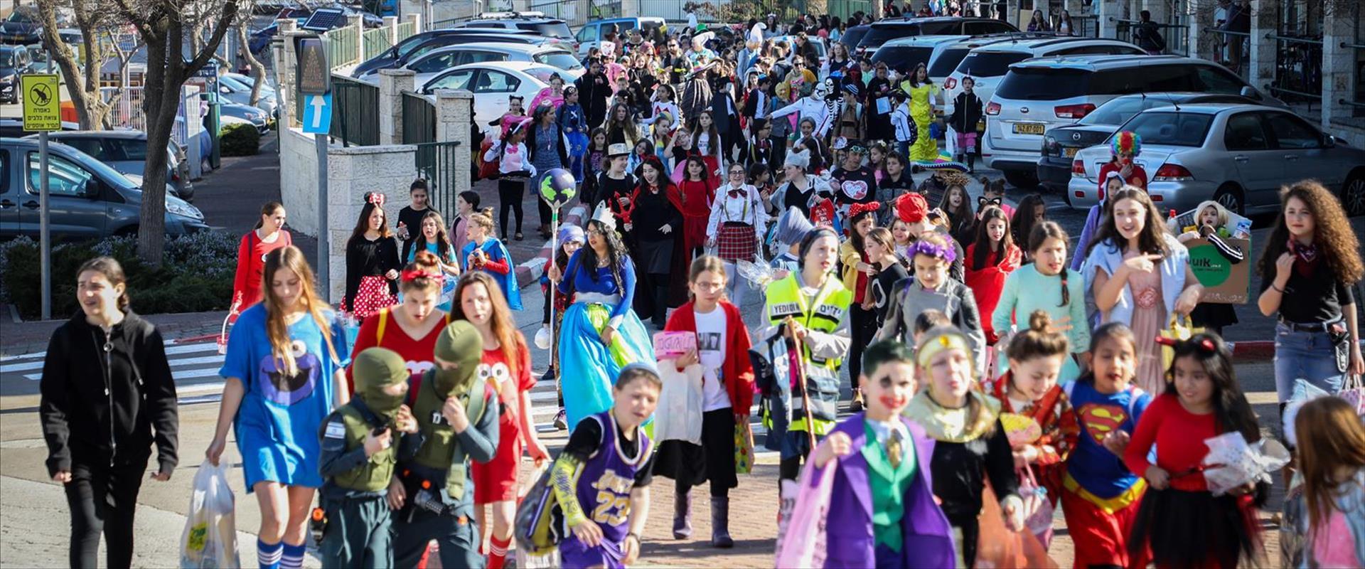 חגיגות פורים באפרת, בשנה שעברה