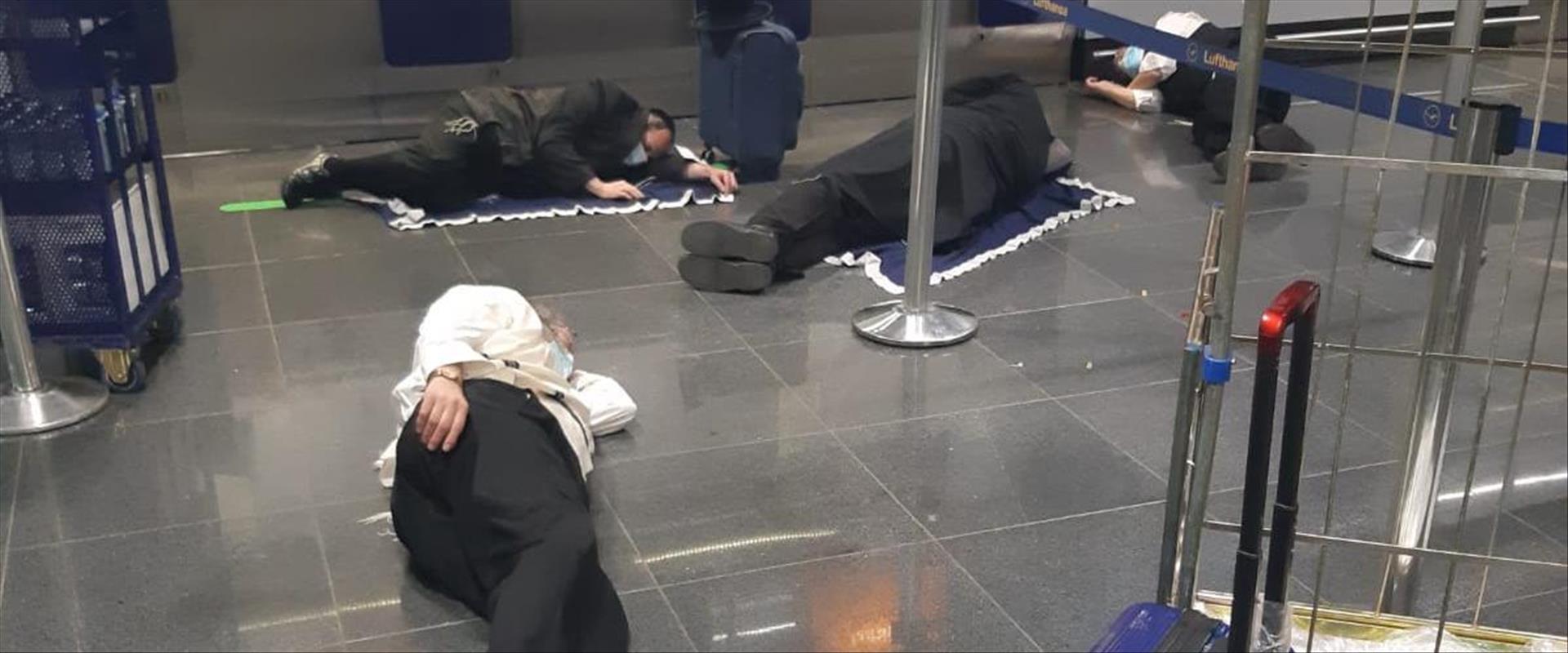 ישראלים תקועים בפרנקפורט