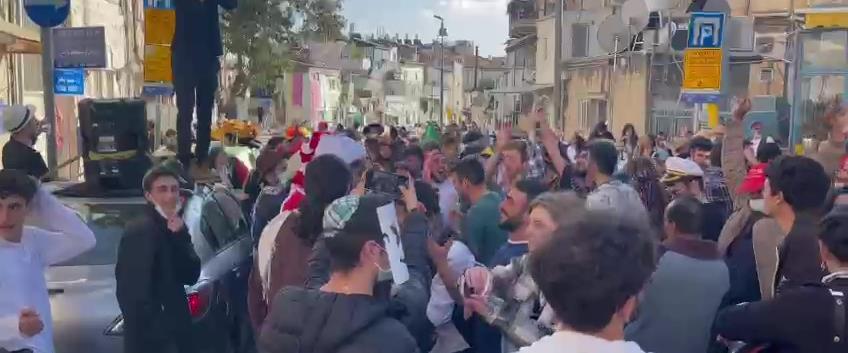 צועדים בדרך לירושלים