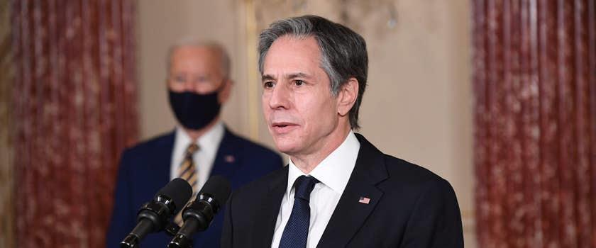 שר החוץ בלינקן