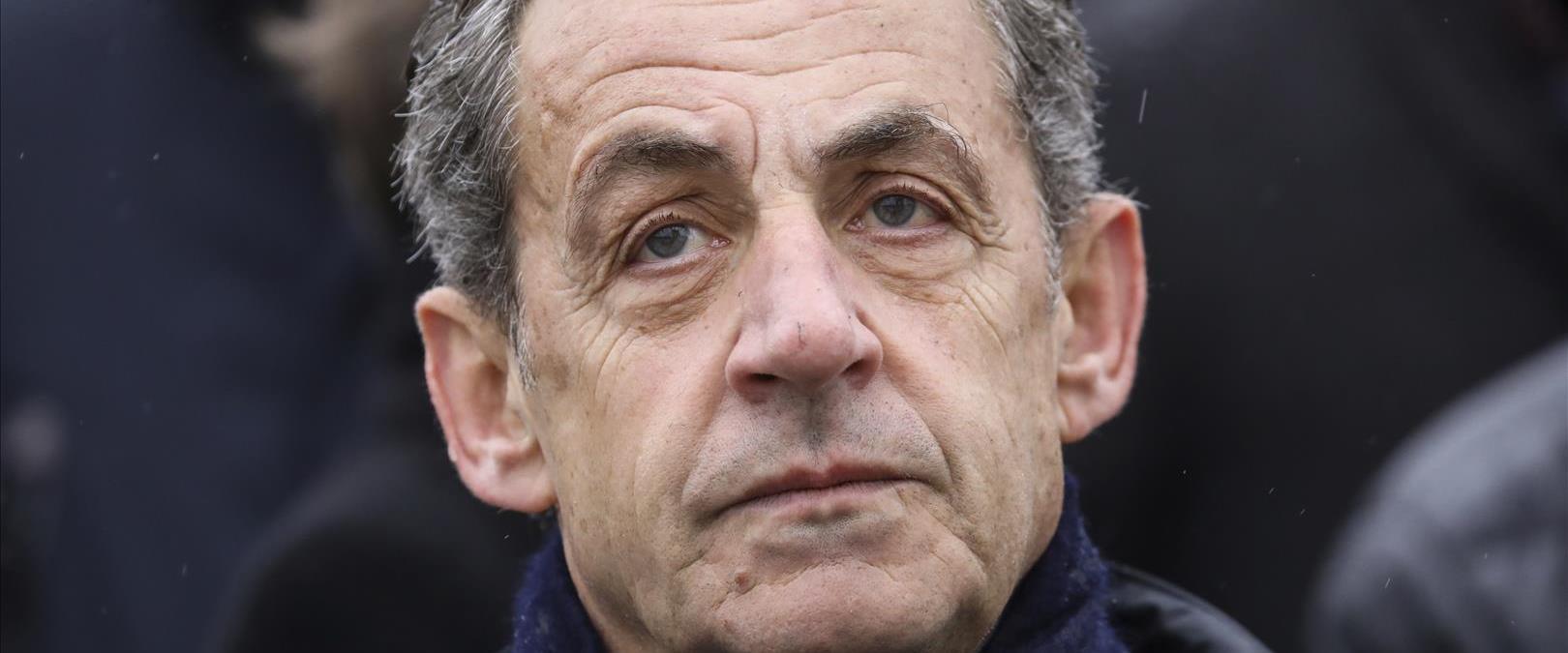 נשיא צרפת לשעבר סרקוזי