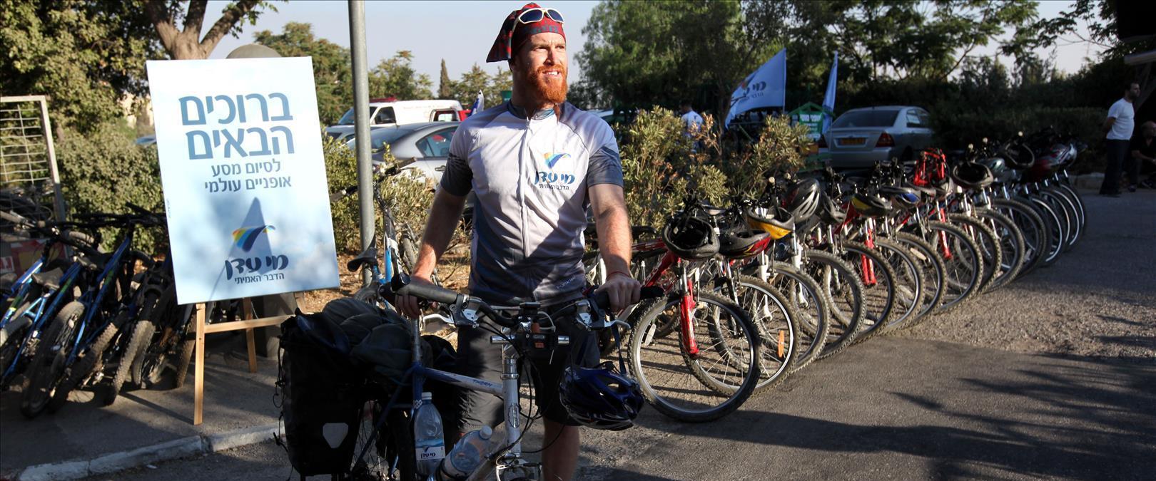 רוכב האופניים רועי סדן