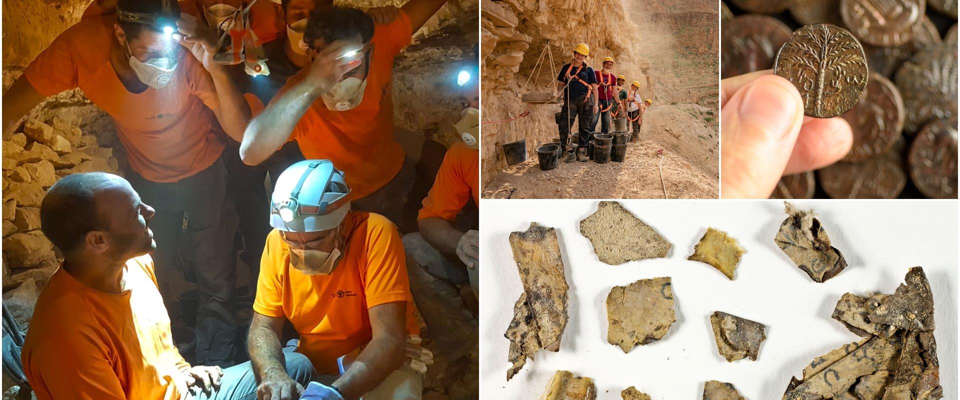 מהחפירות במדבר יהודה