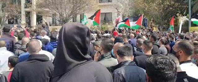 הפגנה באום אל פחם 05.03.21