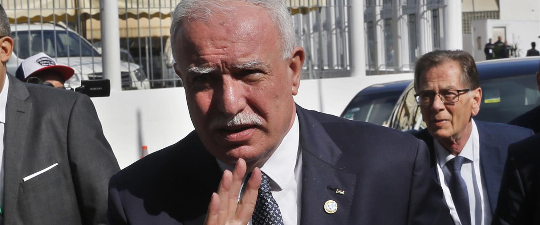 שר החוץ של הרשות הפלסטינית