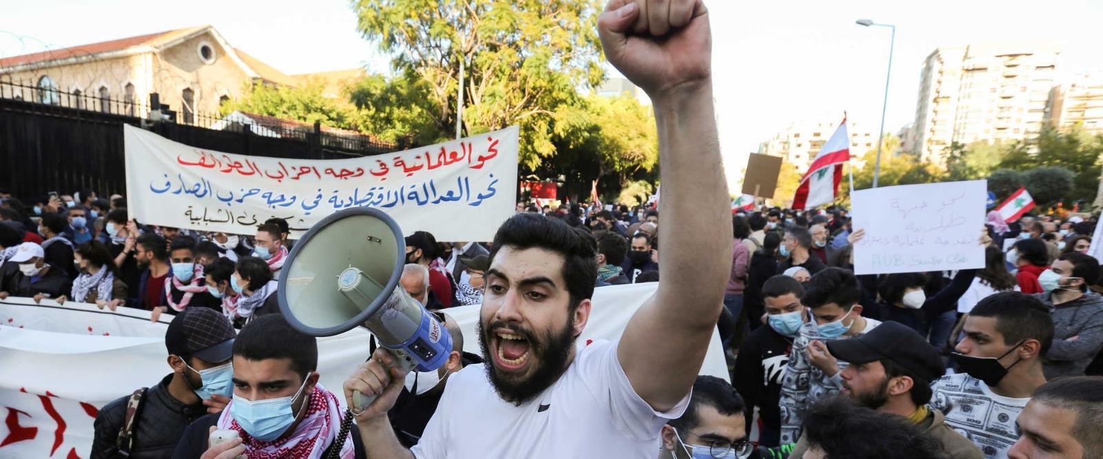המחאות בלבנון