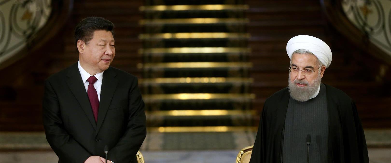 ביקור נשיא סין באיראן ב-2015