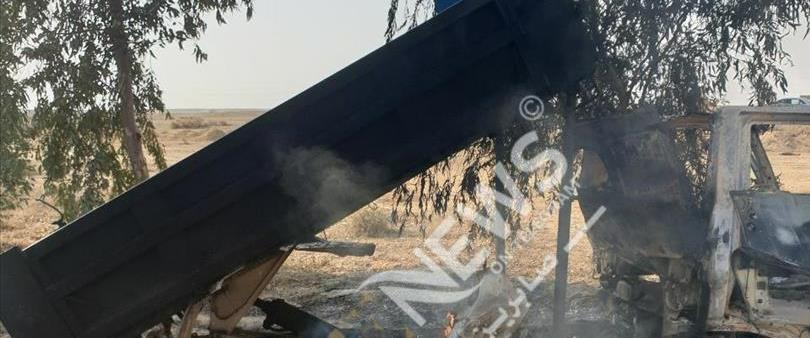 פגיעת רקטות בבסיס עין אל-אסד במערב עיראק
