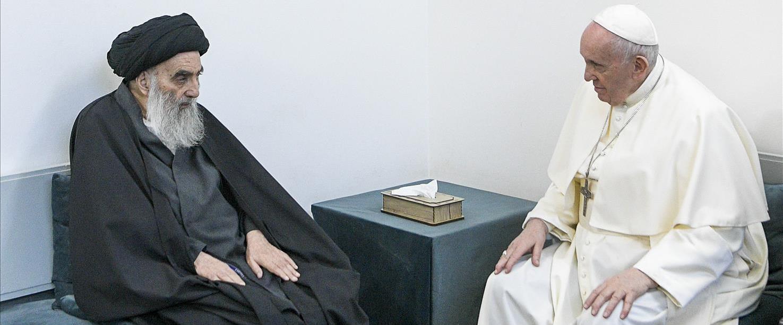 האפיפיור במשימה למען הנוצרים בעיראק