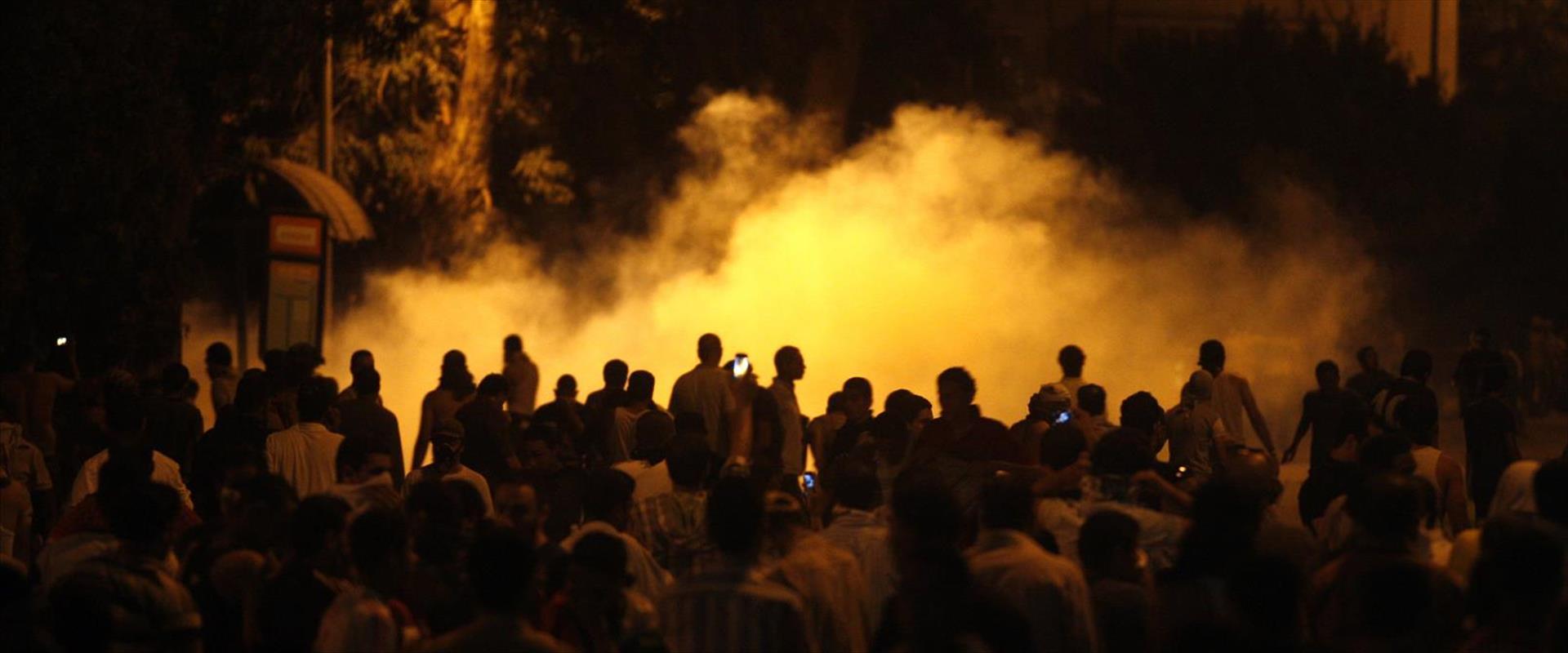 המהומות מול שגרירות ישראל במצרים ב-2011