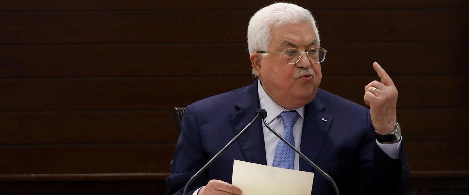 """יו""""ר הרשות הפלסטינית אבו מאזן, 03.09.20"""