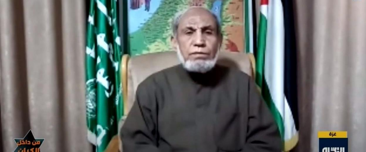 א-זהאר בריאיון לערוץ הטלוויזיה העיראקי
