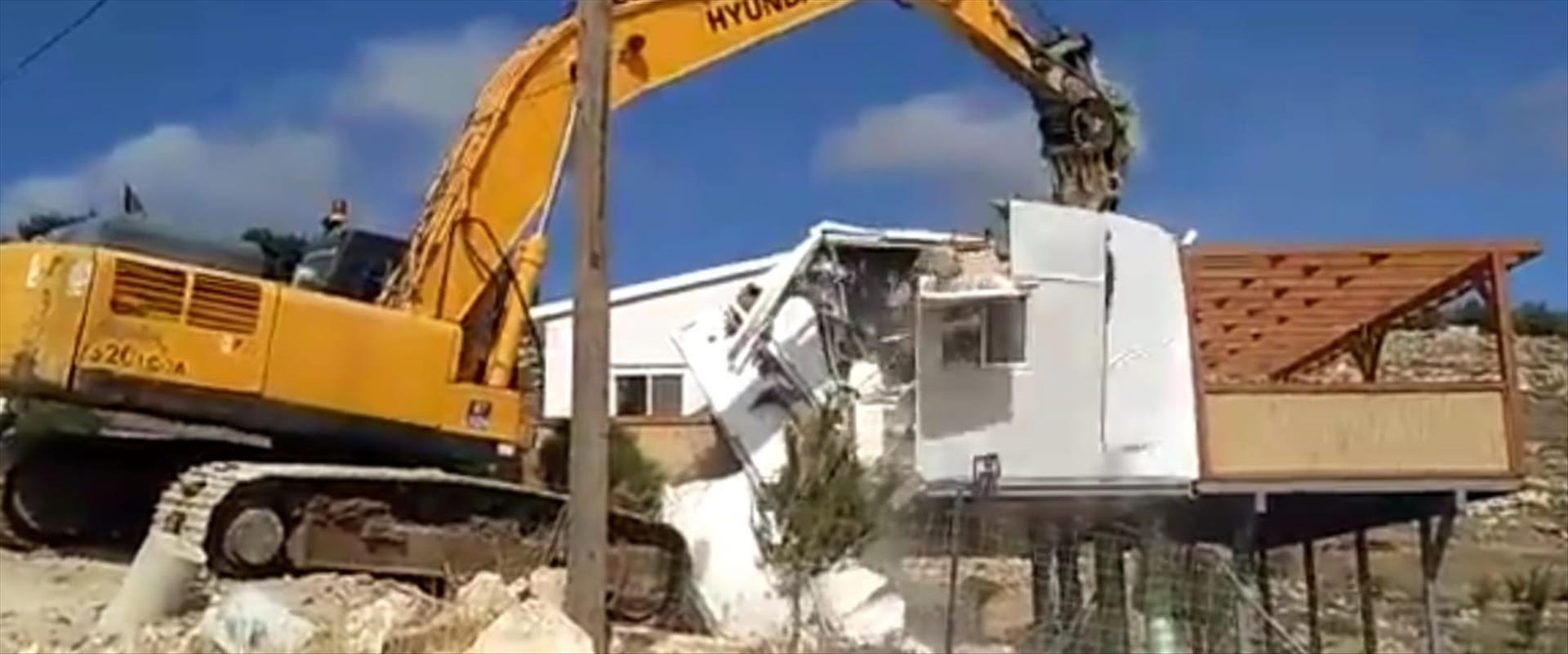 הבית שנהרס ב-2017