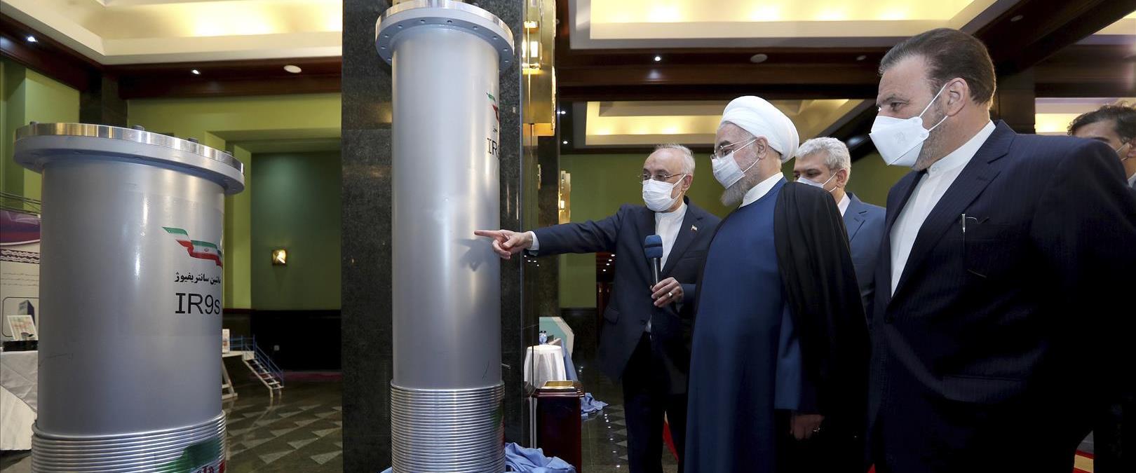 נשיא איראן לשעבר רוחאני במתקן גרעין, ארכיון