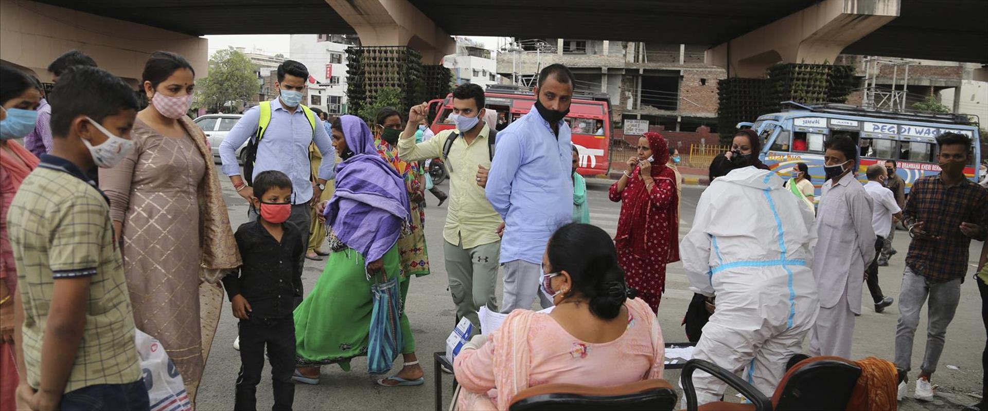 وباء الكورونا في الهند