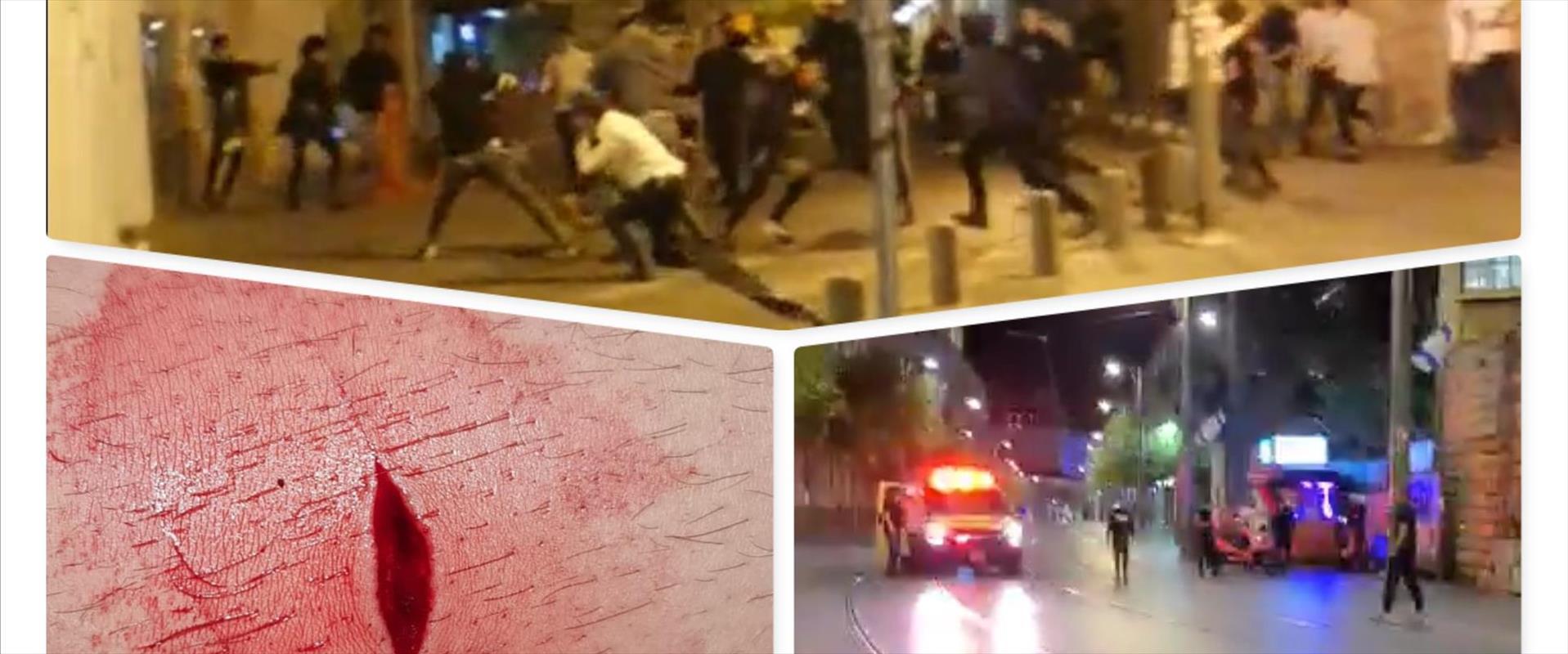 עימותים בירושלים, הלילה