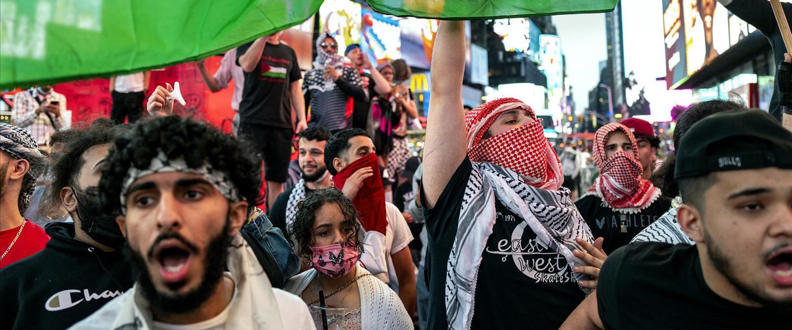 הפגנה בניו יורק, השבוע