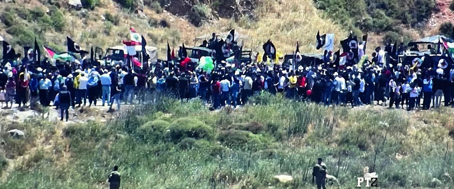 המחאה בגבול