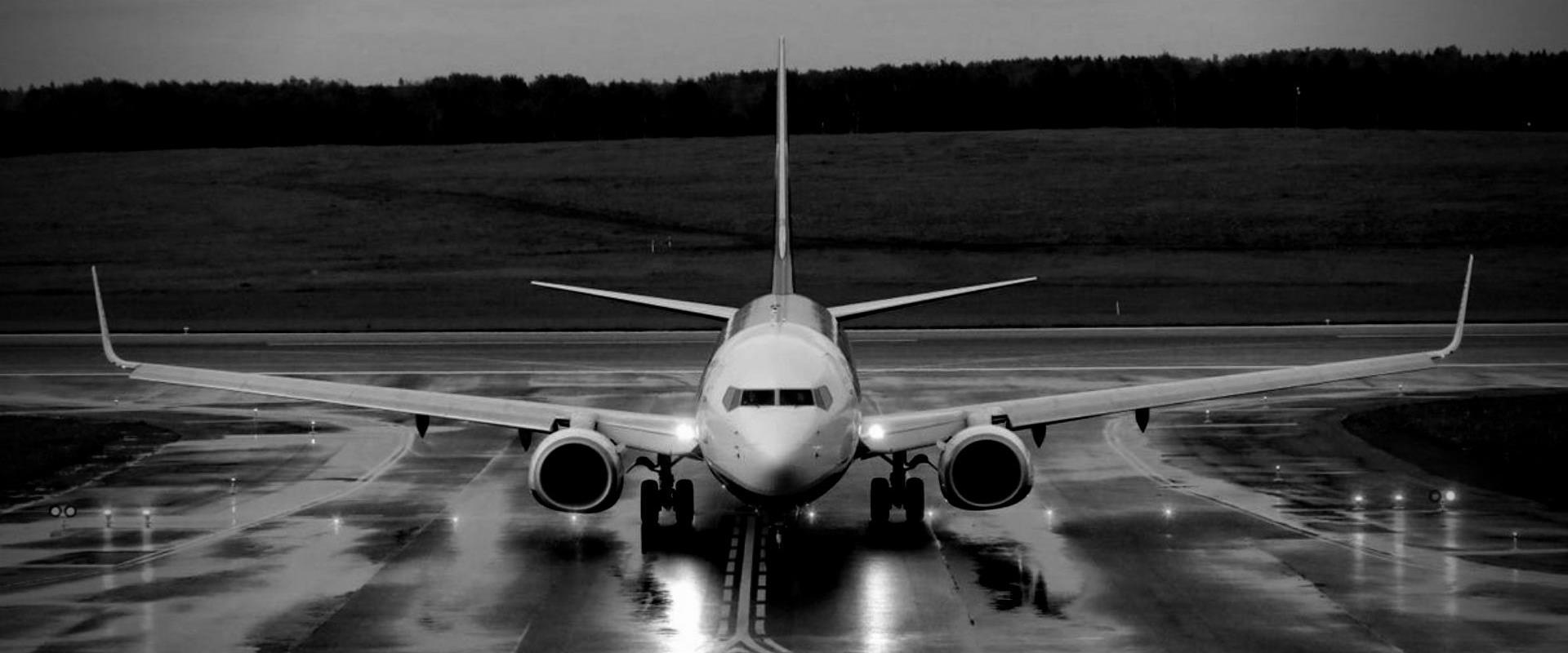 המטוס שאולץ לנחות בנמל התעופה של וילנה, השבוע