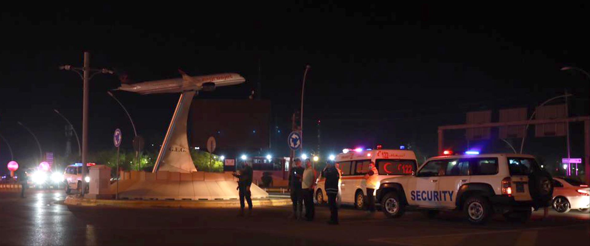 יעד התקיפה: נמל התעופה באיבריל, בחודש שעבר
