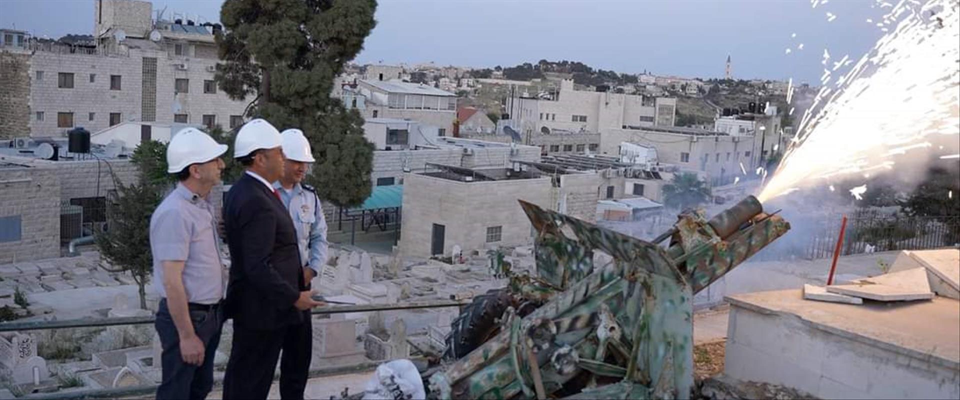 موشي ليؤون يطلق مدفع رمضان
