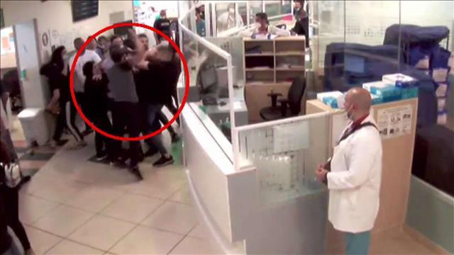 איורע התקיפה מתוך מצלמות אבטחה