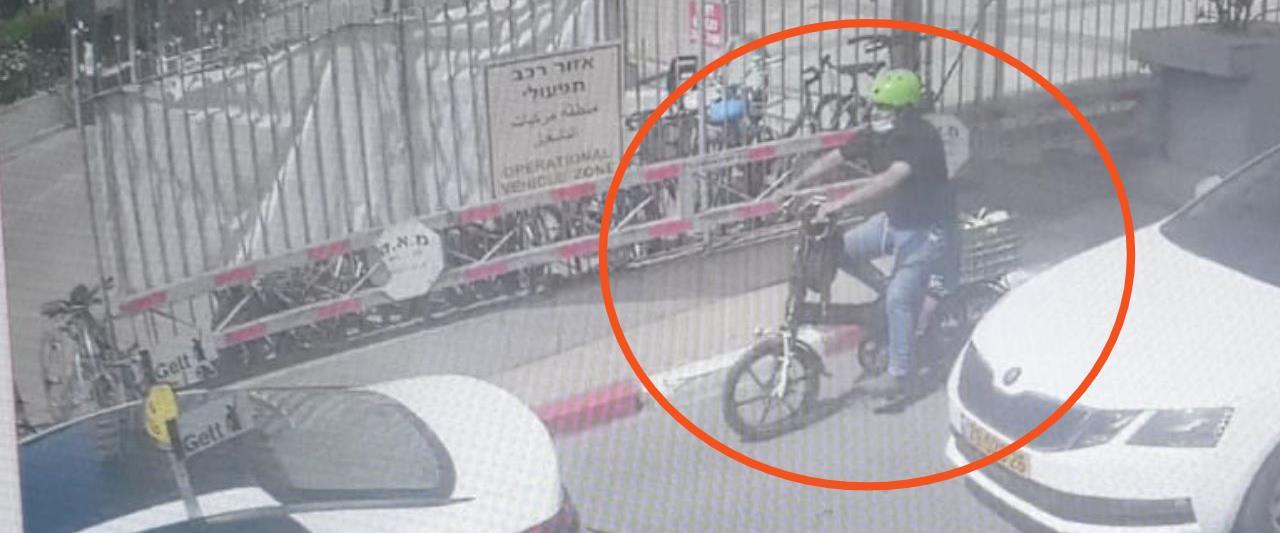 אבא על אופניים