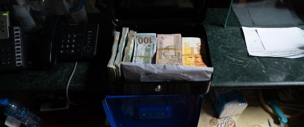 مبالغ نقدية تم ضبطها
