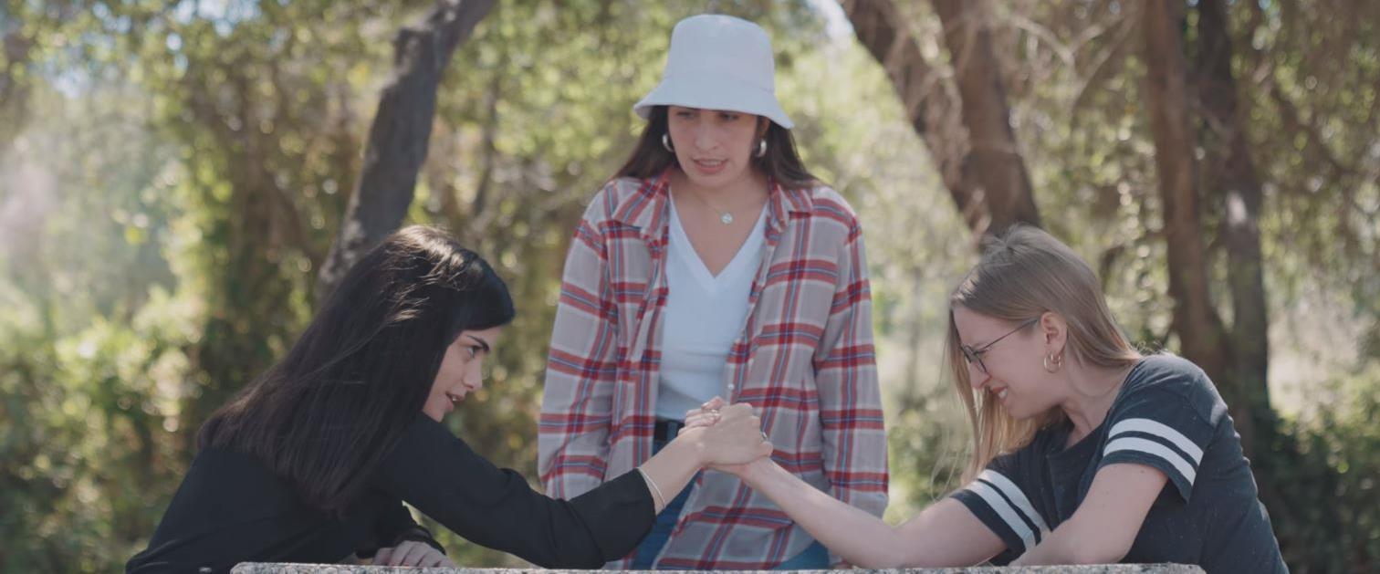 דניאלה רגב, אביגיל סידון ומאריה טועמה