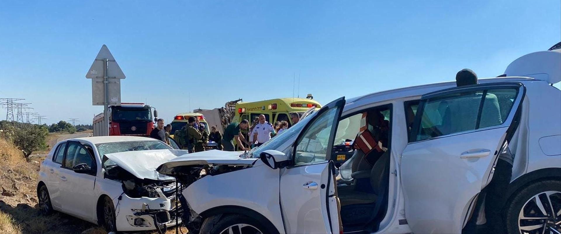תאונה קשה סמוך לאורטל