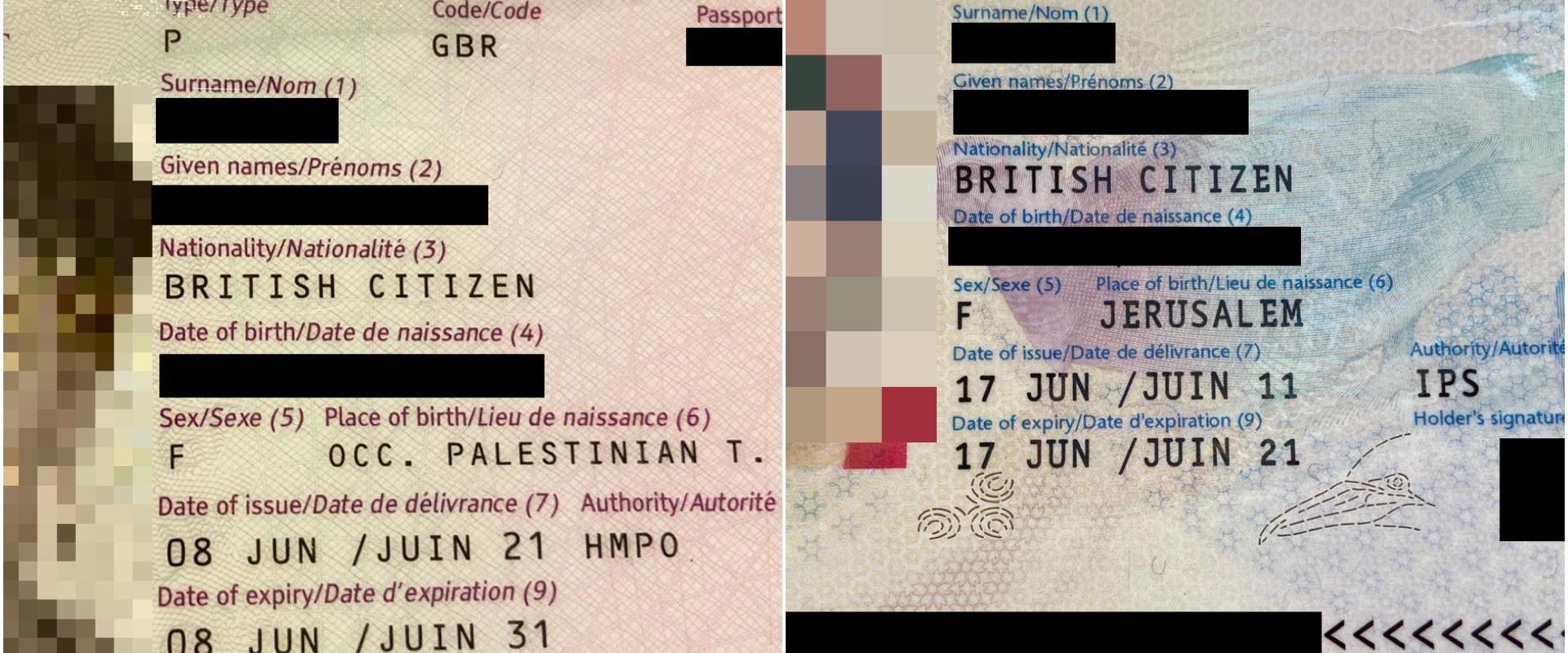 הדרכון של בלבן