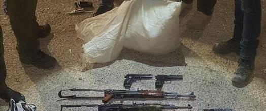 """האמל""""ח שנתפס בגבול ירדן"""