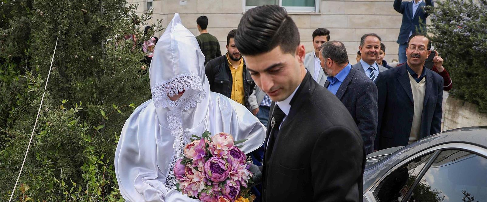 חתונה בחברון, 2020. למצולמים אין קשר לכתבה