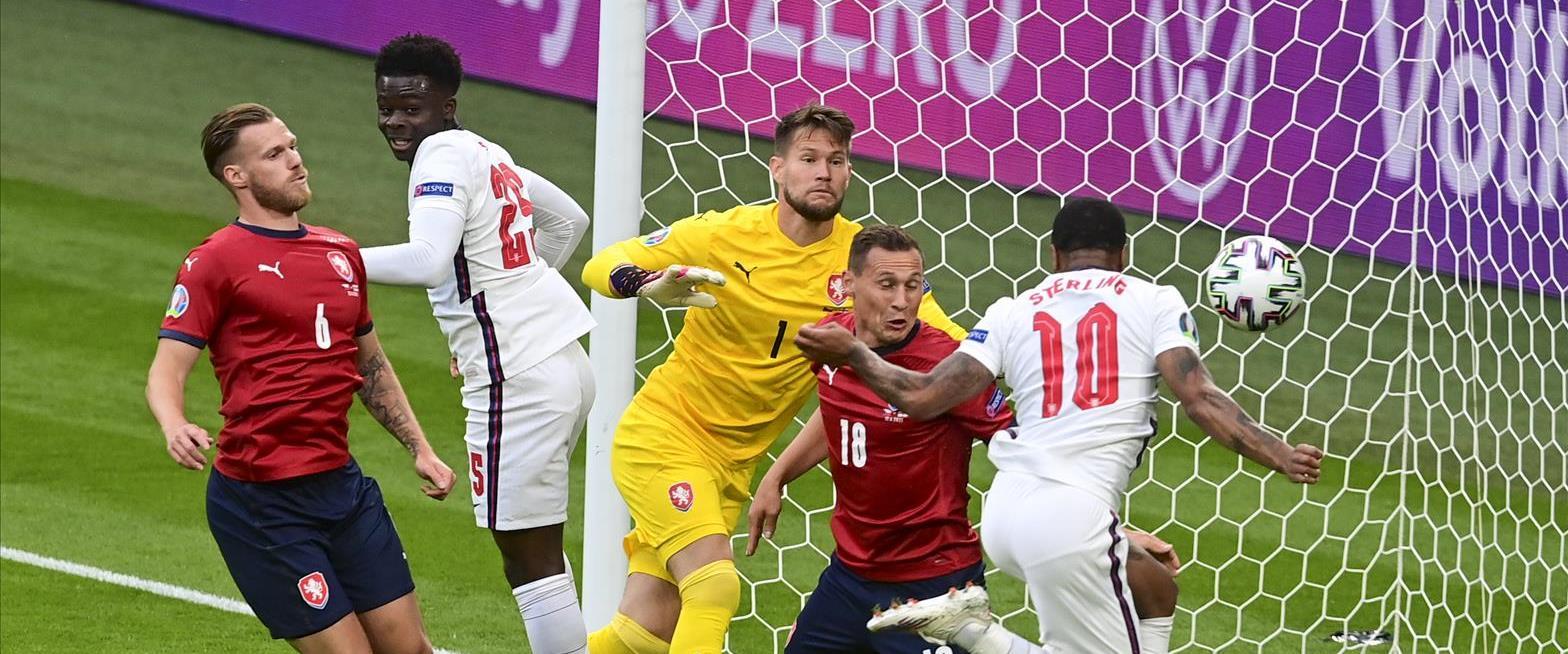אנגליה נגד צ'כיה ביורו 2020