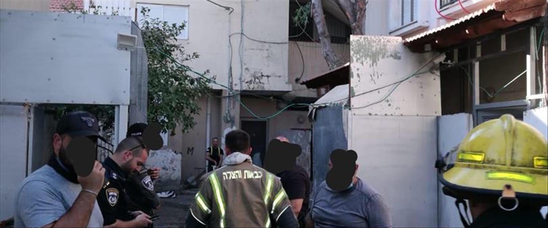 זירת השריפה בבית משפחת אבו צעלוק, היום