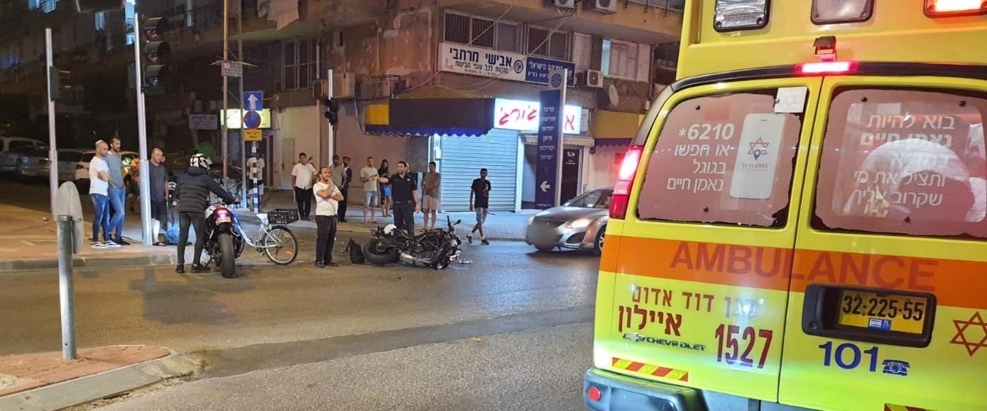 תאונת האופנוע ברחובות