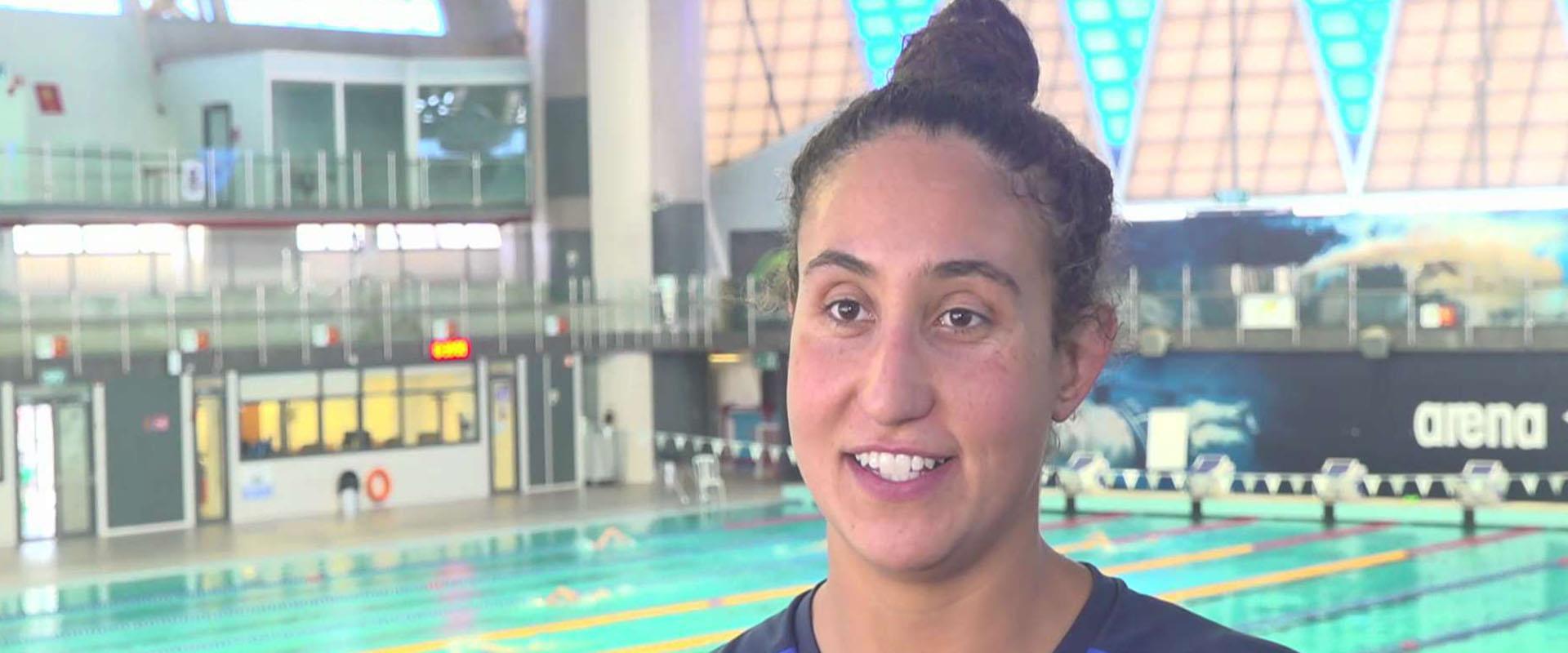 השחיינית הישראלית שמתכוונת להעפיל לאולימפיאדה