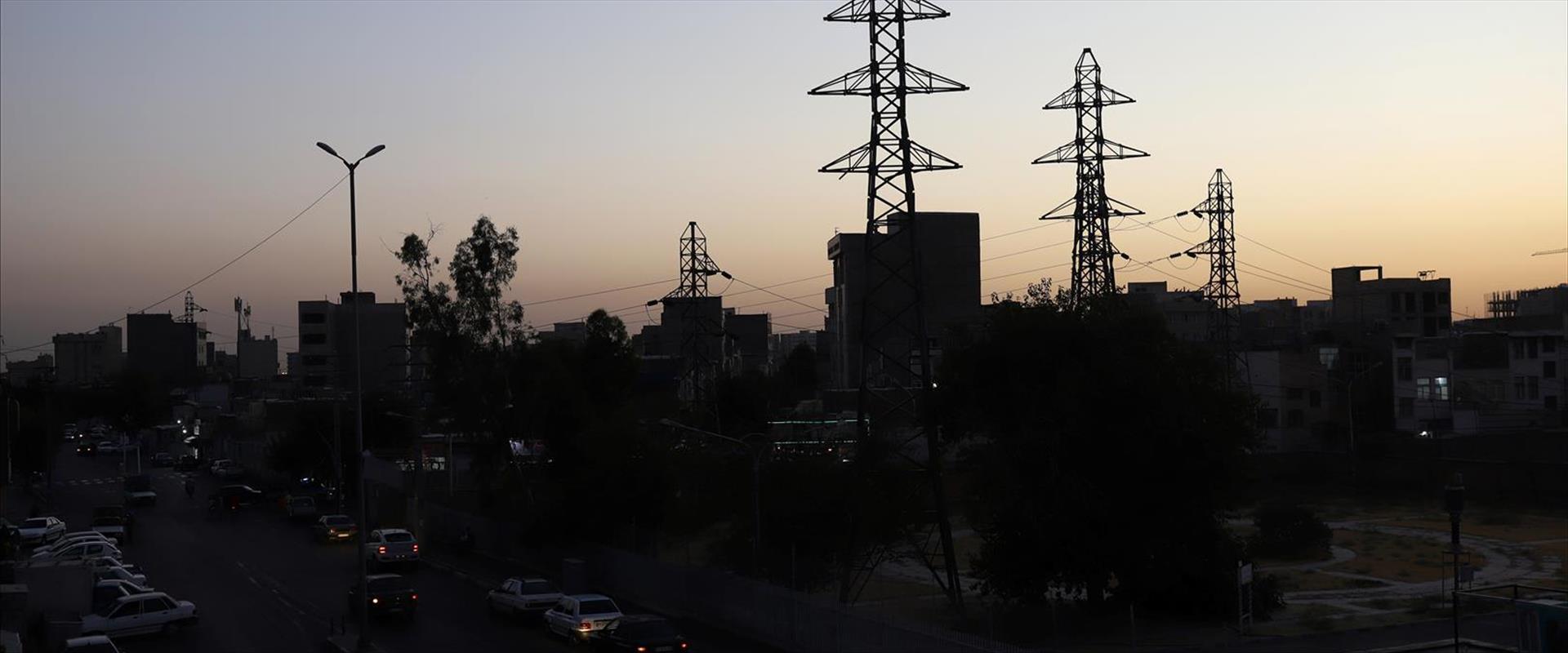 הפסקת חשמל בטהראן בעקבות מתקפת סייבר