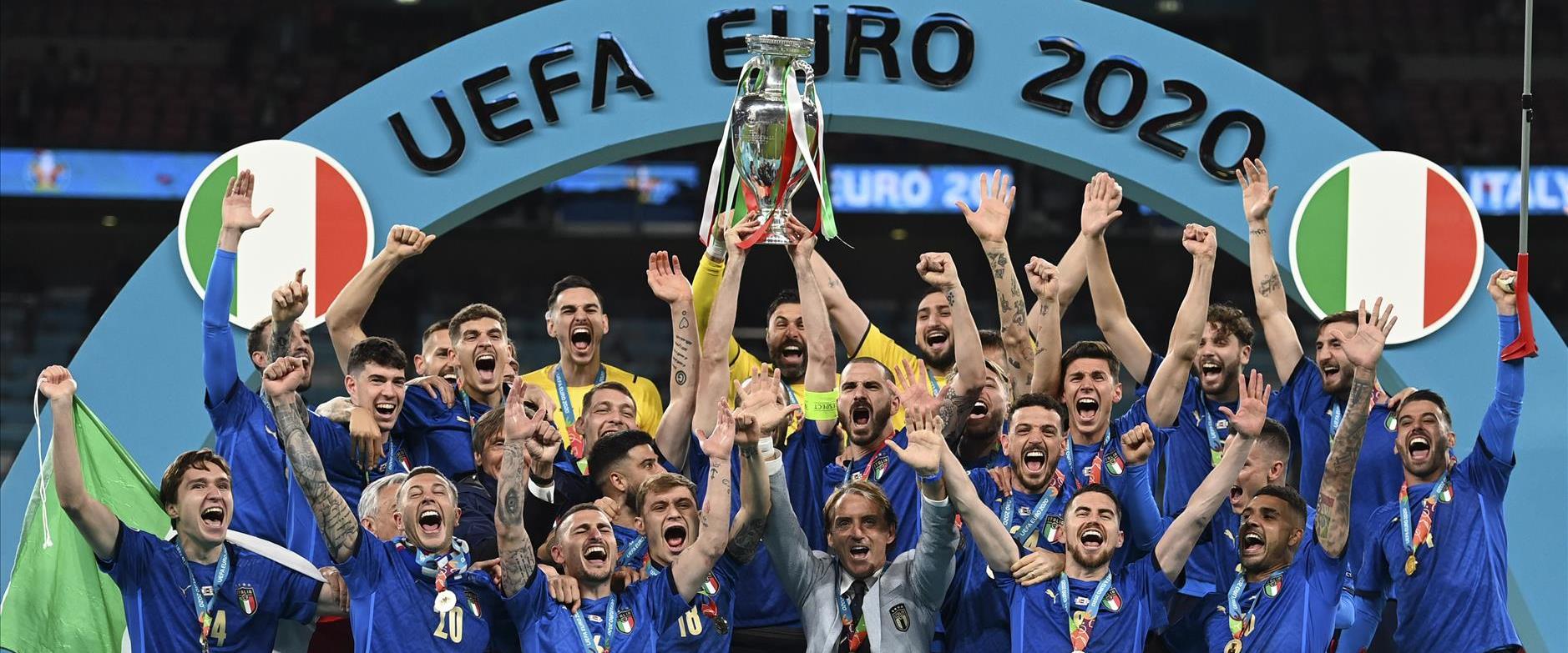 איטליה זכתה ביורו
