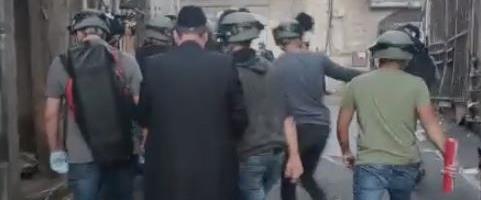 מעצר אחד החשודים בירושלים