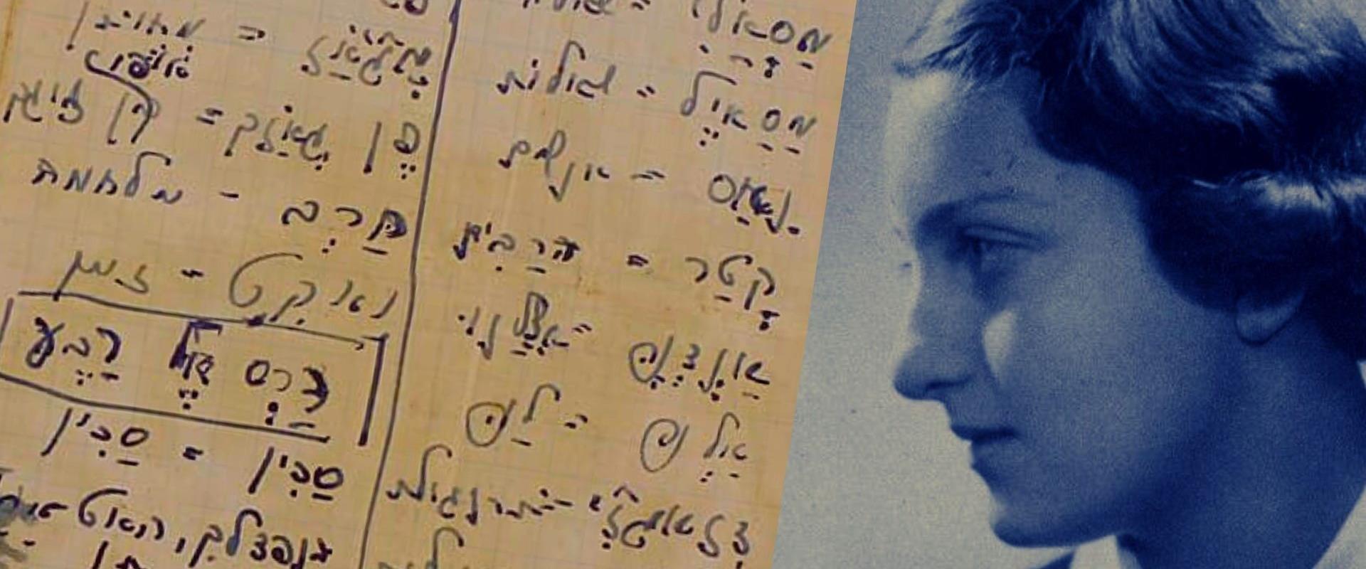 חנה סנש (מימין) ומחברתה ללימוד ערבית