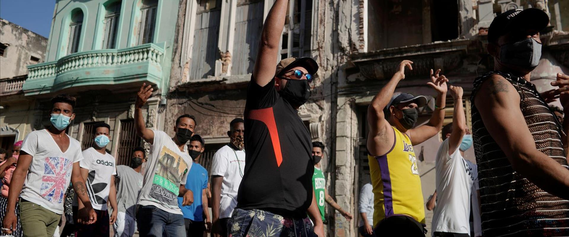 המחאות בהוואנה, בירת קובה