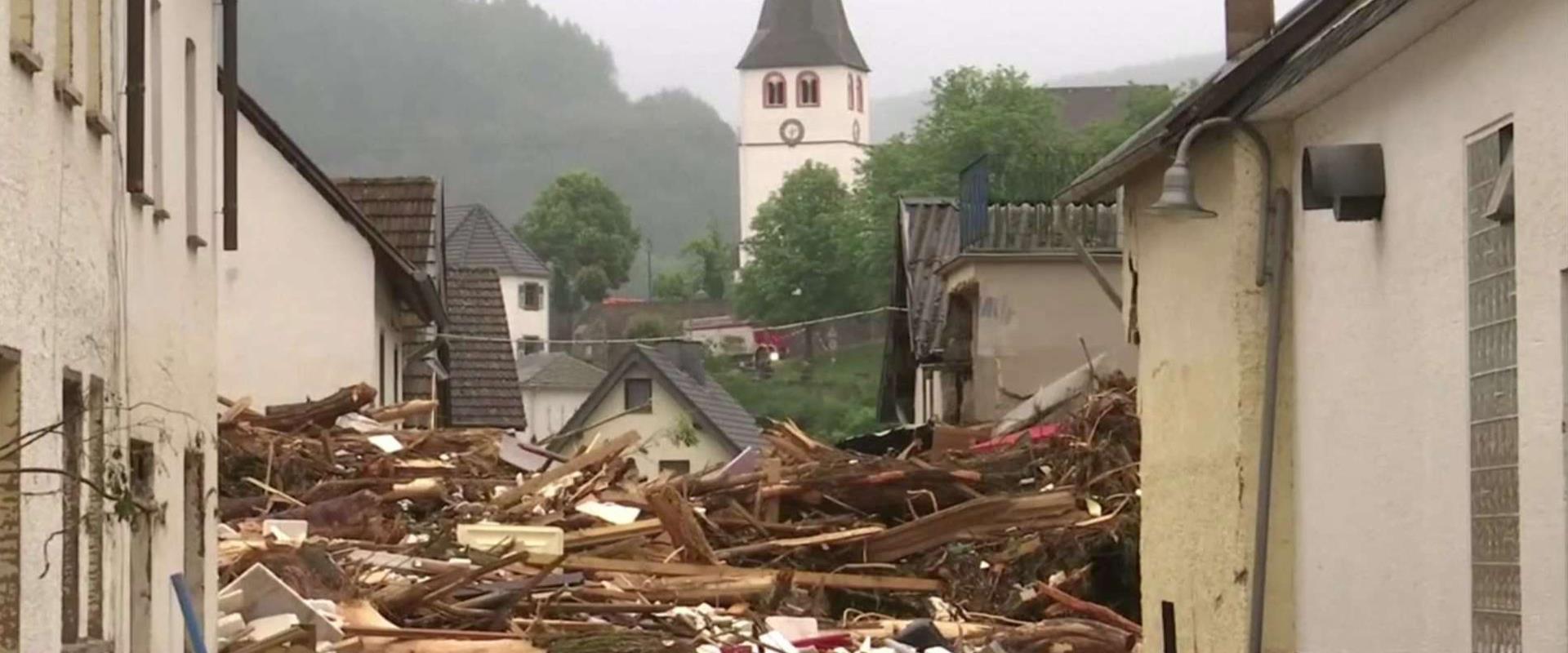 השיטפונות בגרמניה