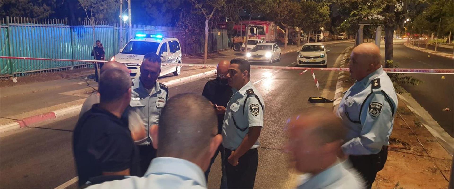 זירת הרצח בתל אביב יפו, אמש