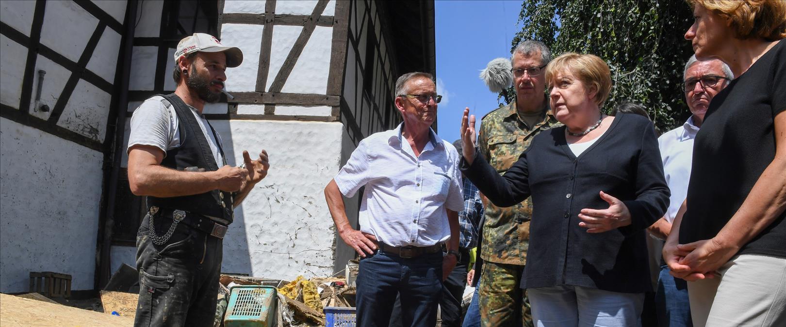 קנצלרית גרמניה מרקל בכפר שולד, היום