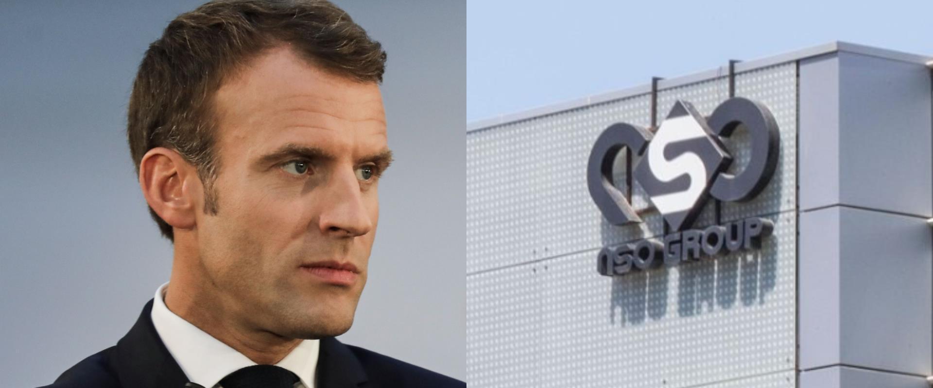 משרדי NSO, נשיא צרפת מקרון, ארכיון