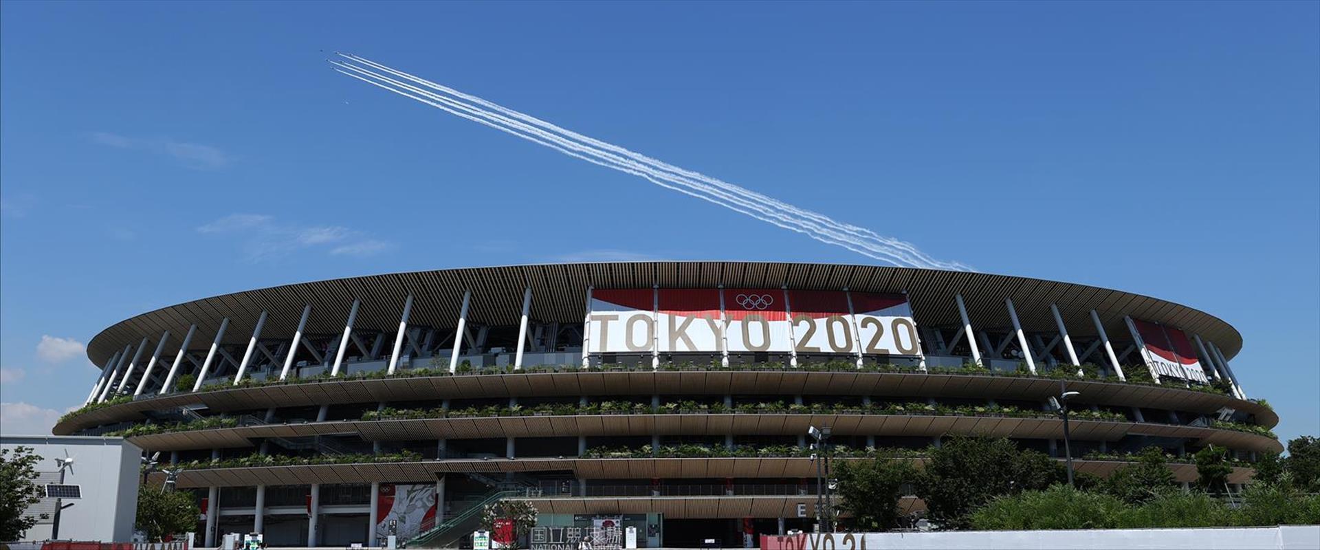 האצטדיון האולימפי טוקיו