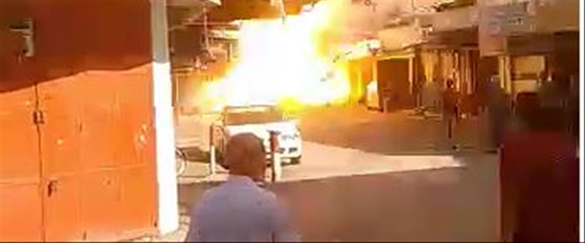 الانفجار في غزة