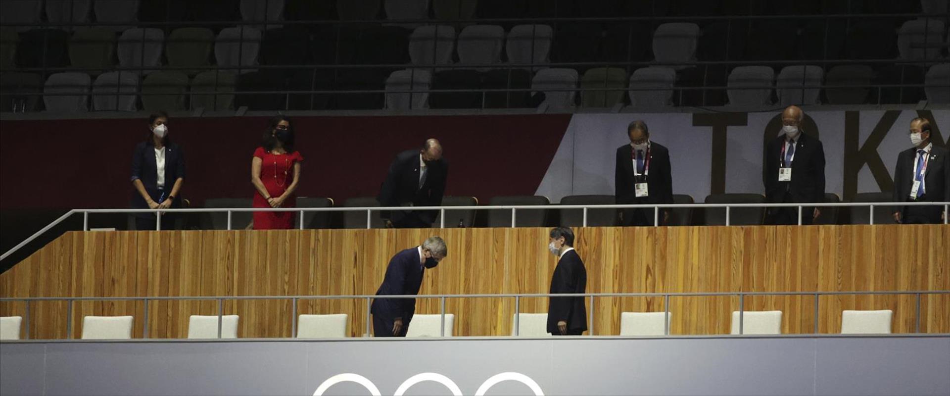 קיסר יפן במשחקים האולימפיים בטוקיו