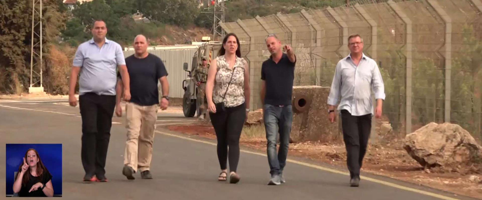 צוותי הרפואה של מלחמת לבנון פותחים את הפצעים